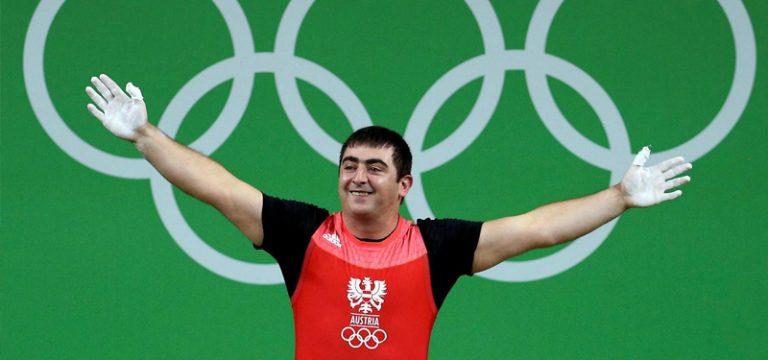Read more about the article Sargis Martirosjan holt Bronze im Reißen beim World Cup in Rom