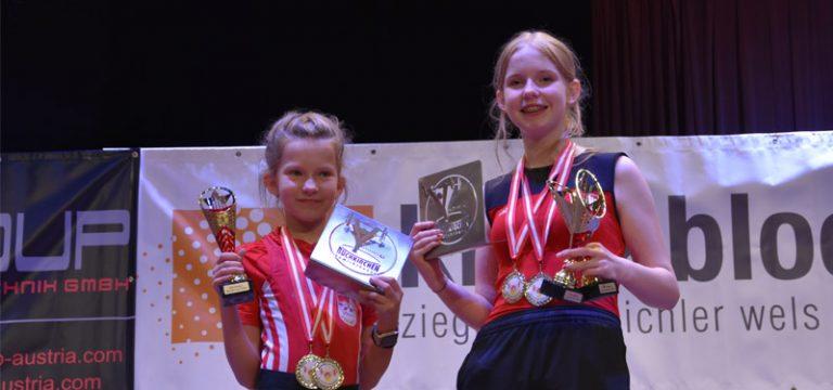 Österr. Meisterschaften der Schüler U9-U13 in Buchkirchen