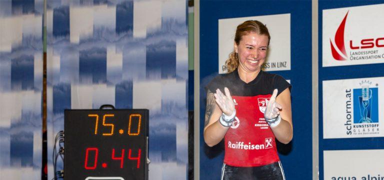 Read more about the article Lena Raidel mit Rekord – Jonas Klinger mit enormer Leistungssteigerung !!