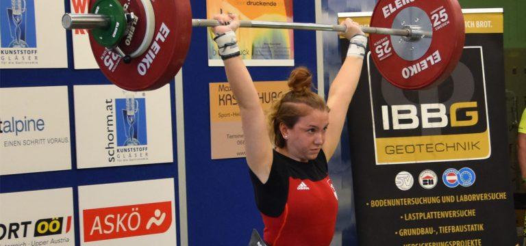 Read more about the article Lena Raidel hob in Malta drei U17 Rekorde