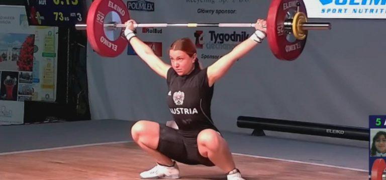 Read more about the article Lena Raidel bei U17 EM mit Top 6 Platz im Zweikampf!